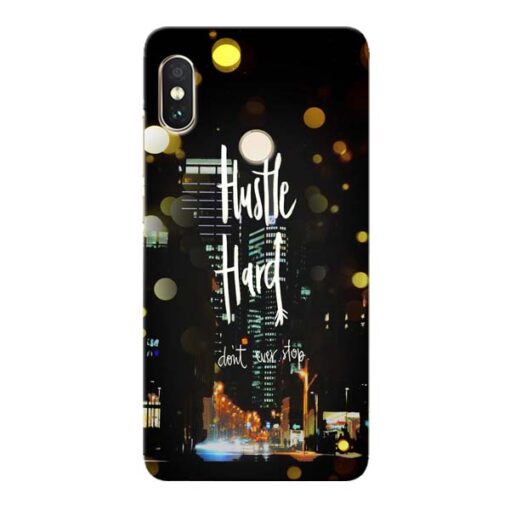 Hustle Hard Xiaomi Redmi Note 5 Pro Mobile Cover