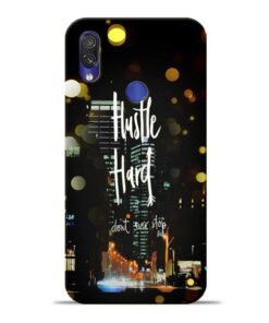 Hustle Hard Xiaomi Redmi Note 7 Mobile Cover