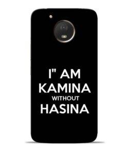 I Am Kamina Moto E4 Plus Mobile Cover