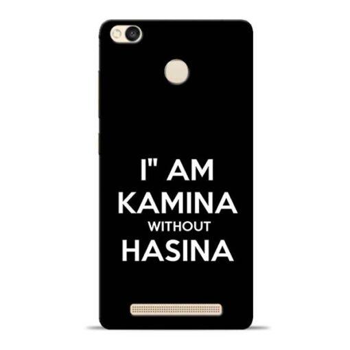 I Am Kamina Redmi 3s Prime Mobile Cover