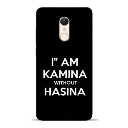 I Am Kamina Redmi 5 Mobile Cover