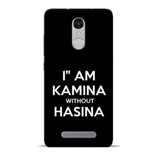 I Am Kamina Redmi Note 3 Mobile Cover