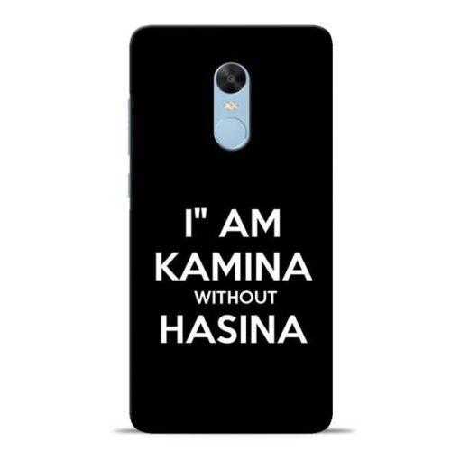 I Am Kamina Redmi Note 4 Mobile Cover