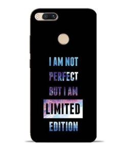 I Am Not Perfect Mi A1 Mobile Cover