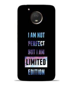 I Am Not Perfect Moto E4 Plus Mobile Cover