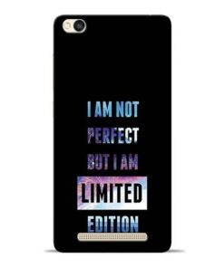 I Am Not Perfect Redmi 3s Mobile Cover