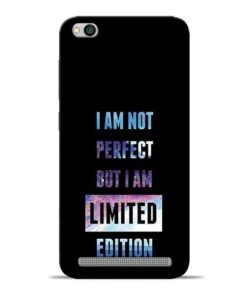 I Am Not Perfect Redmi 5A Mobile Cover