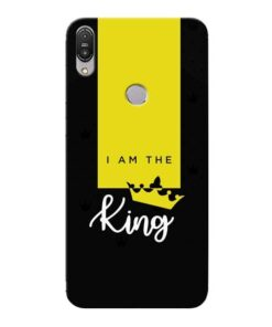 I am King Asus Zenfone Max Pro M1 Mobile Cover
