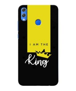 I am King Honor 8X Mobile Cover