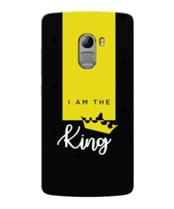I am King Lenovo Vibe K4 Note Mobile Cover