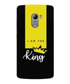 I am King Lenovo Vibe K4 Note Mobile Cover