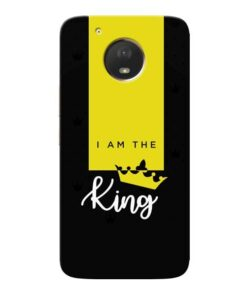 I am King Moto E4 Plus Mobile Cover