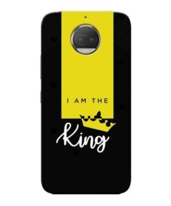 I am King Moto G5s Plus Mobile Cover