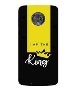 I am King Moto G6 Mobile Cover
