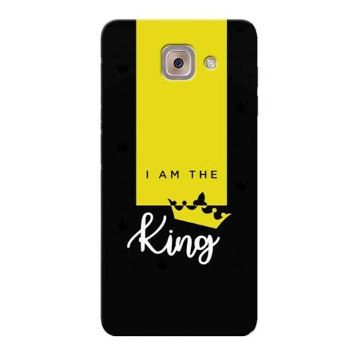 I am King Samsung Galaxy J7 Max Mobile Cover