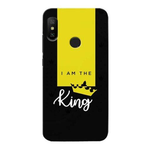 I am King Xiaomi Redmi 6 Pro Mobile Cover