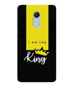 I am King Xiaomi Redmi Note 4 Mobile Cover