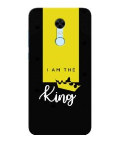 I am King Xiaomi Redmi Note 5 Mobile Cover