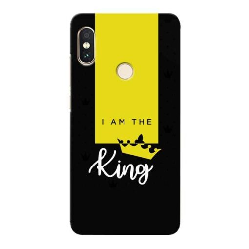 I am King Xiaomi Redmi Note 5 Pro Mobile Cover