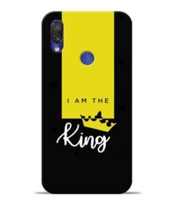 I am King Xiaomi Redmi Note 7 Pro Mobile Cover