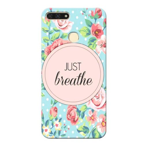 Just Breathe Honor 7A Mobile Cover