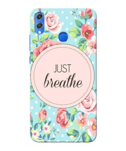 Just Breathe Honor 8X Mobile Cover