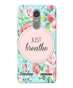 Just Breathe Lenovo K6 Power Mobile Cover