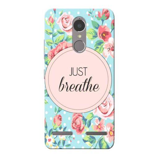Just Breathe Lenovo K6 Power Mobile Cover
