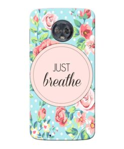 Just Breathe Moto G6 Mobile Cover