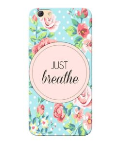 Just Breathe Oppo F3 Mobile Cover