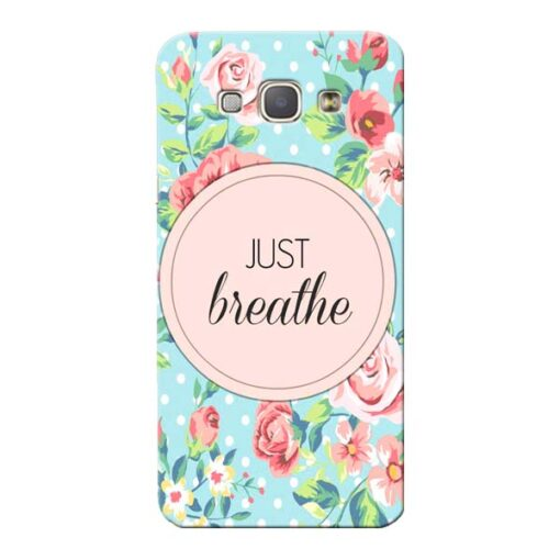 Just Breathe Samsung Galaxy A8 2015 Mobile Cover