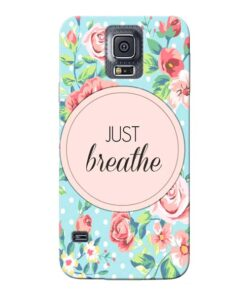 Just Breathe Samsung Galaxy S5 Mobile Cover