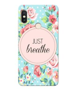 Just Breathe Xiaomi Redmi Note 5 Pro Mobile Cover