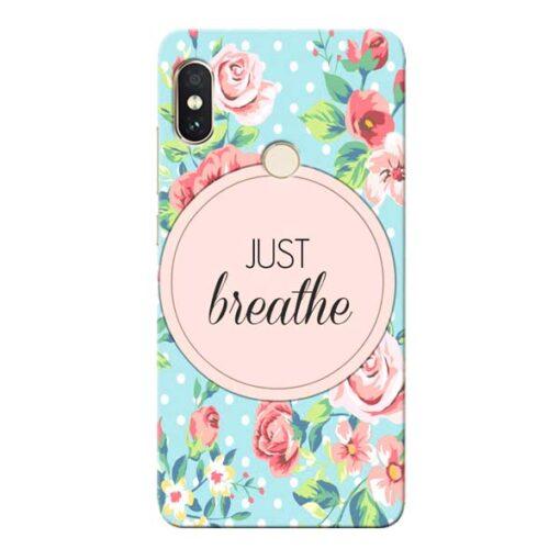 Just Breathe Xiaomi Redmi Note 5 Pro Mobile Cover