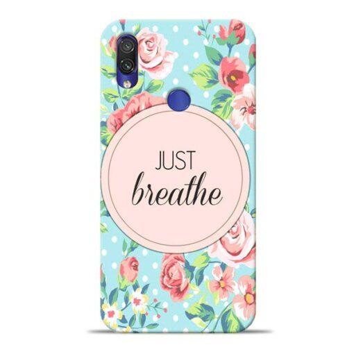 Just Breathe Xiaomi Redmi Note 7 Mobile Cover