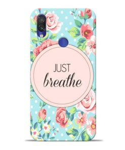 Just Breathe Xiaomi Redmi Note 7 Pro Mobile Cover