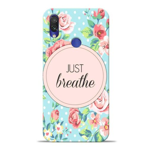 Just Breathe Xiaomi Redmi Note 7 Pro Mobile Cover