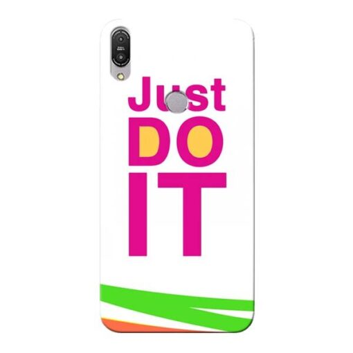 Just Do It Asus Zenfone Max Pro M1 Mobile Cover