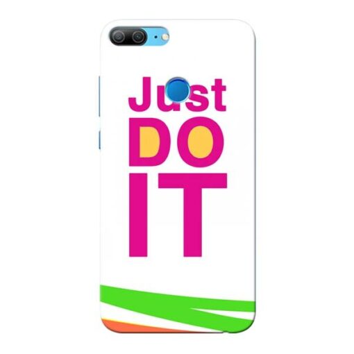 Just Do It Honor 9 Lite Mobile Cover