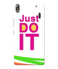 Just Do It Lenovo K3 Note Mobile Cover