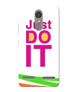 Just Do It Lenovo K6 Power Mobile Cover