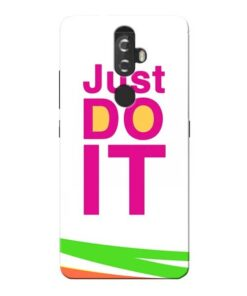 Just Do It Lenovo K8 Plus Mobile Cover