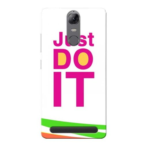 Just Do It Lenovo Vibe K5 Note Mobile Cover