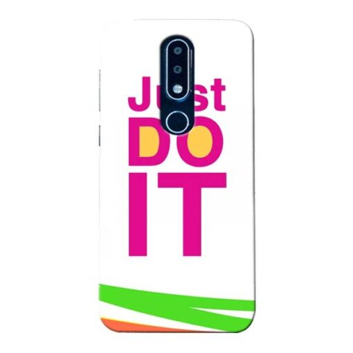 Just Do It Nokia 6.1 Plus Mobile Cover