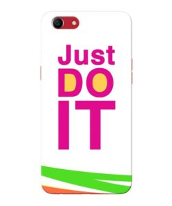 Just Do It Oppo A83 Mobile Cover