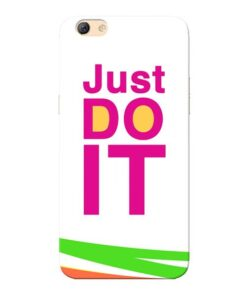 Just Do It Oppo F3 Mobile Cover
