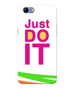 Just Do It Oppo Realme 1 Mobile Cover