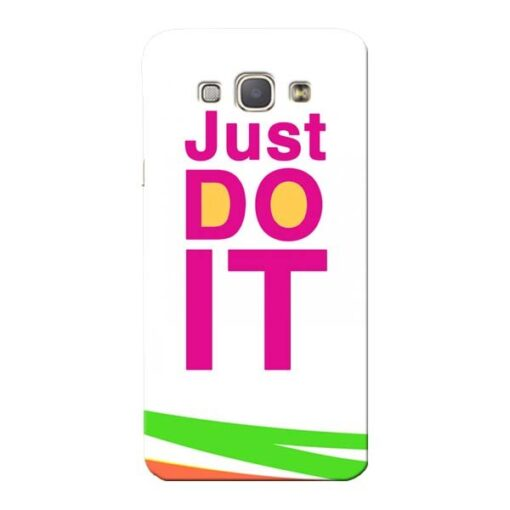 Just Do It Samsung Galaxy A8 2015 Mobile Cover