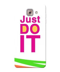 Just Do It Samsung Galaxy J7 Max Mobile Cover