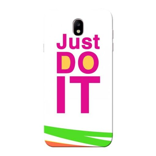 Just Do It Samsung Galaxy J7 Pro Mobile Cover
